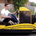 50万個以上のレゴ・ブロックで本物の自動車を製作! 気になる制作費と試乗運転は…?