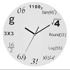 この数式時計で時間がわかる人いるの? 理系人間のための理系時計!