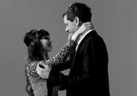 初見の男女に接吻させてみた実験映像!! まるで本物の恋人のよう!?