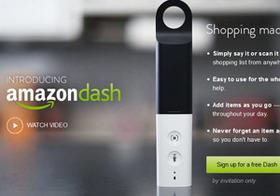 Amazon Dash、普及の予感?ガジェットから即時に買い物、新ユーザー層発掘か