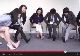 【動画あり】突撃企業訪問!足のむくみを解消する、簡単スローストレッチを伝授