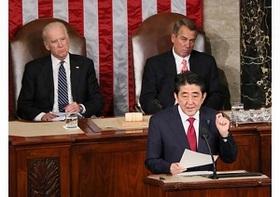 """賞賛された""""はずの""""安倍首相演説、なぜ米国メディアから酷評されたのか?"""