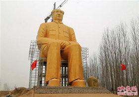 """各地で相次ぐ巨像建立に、集団結婚式まで……中国で広がる毛沢東の""""カルト崇拝"""""""