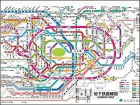 迷って当然!? 東京の複雑すぎる交通網は脳の限界(8ビット)を超えていた!
