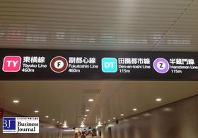 駅の乗換案内表示「○○線まで950m」はウソ?実際の歩行距離はもっと全然長かった!
