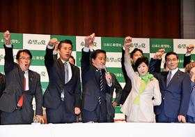 小池百合子が主導で政界再編へ…自民党、過半数割れで希望の党と拮抗の可能性も