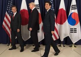 トランプの韓国訪問、北朝鮮が軍事攻撃の可能性…米軍は空母展開、韓国素通りも検討