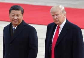 トランプ、習近平に仏頂面…北朝鮮の核施設や金正恩「後」の体制めぐり対立か