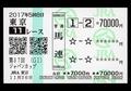武豊惜敗のジャパンカップでも100万円獲得の猛者出現! 阪神JFでも大金獲得と豪語