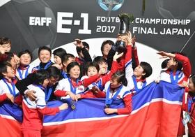 E-1サッカー、優勝の北朝鮮に賞金支払わず…サッカー連盟、安倍政権の意向を考慮