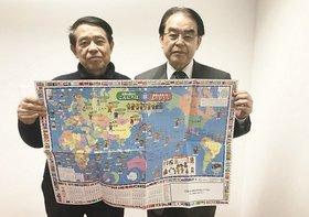 61歳で起業、世界地図を売りまくり、発展途上国で井戸を掘りまくる松岡さんの野望
