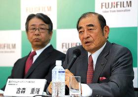 富士フイルム古森会長、買収座礁の説明求める株主を「無視」…ゼロックスと対抗路線へ転換か