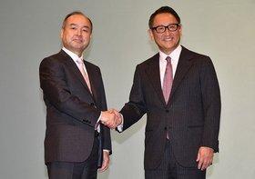 トヨタとソフトバンク、協業関係に…豊田章男氏と孫正義氏が交わした「約束」