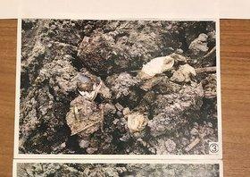 森友問題:財務省、値引きの根拠写真偽装…同一場所の埋設ごみを別の場所の写真として提出