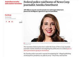 【豪警察が公共放送を家宅捜索】脅かされる「報道の自由」は対岸の火事ではない