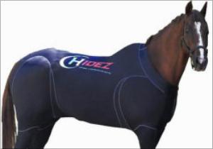 「カッコイイ」「暑そう......」「なんか笑える」世界最強スプリンター・ブラックキャビアも愛用した「馬用ボディスーツ」が世界の競馬を変える?