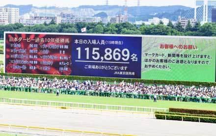 日本ダービー(G1)観戦レポ! レースはもちろん、グルメ・アミューズメント施設など魅力は満載!! 1日中楽しく過ごせる競馬場へ行こうっ!!!の画像2