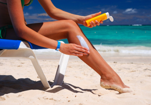 紫外線&日焼けは、がんの危険増大!特に夏の昼時は要注意!の画像1
