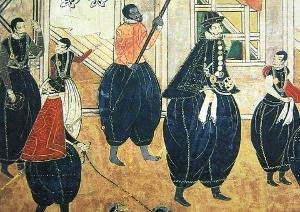 本能寺の変で、巨大アフリカ人が戦っていた!織田信長の家来「弥介」?日本語も操る