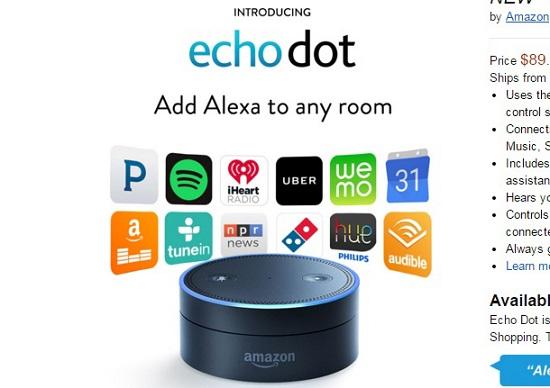 アマゾン、家庭を侵食…人の「声」で買い物の注文や家電操作が可能に