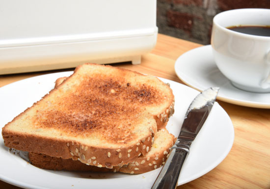 トースト、魚のこげ目、焙煎コーヒーは体に危険!糖尿病、脳梗塞、認知症の原因に