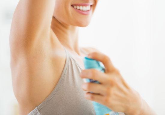 制汗剤は危険!がんやさらに強い悪臭発生のおそれ 含有の銀イオンに強い毒性も