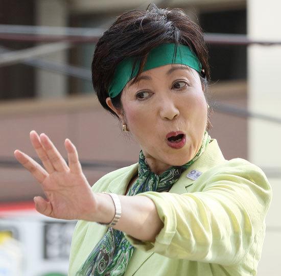 小池百合子氏、猪瀬元知事に指南役を要請「東京都連の闇を暴き立てることを期待。戦争に」