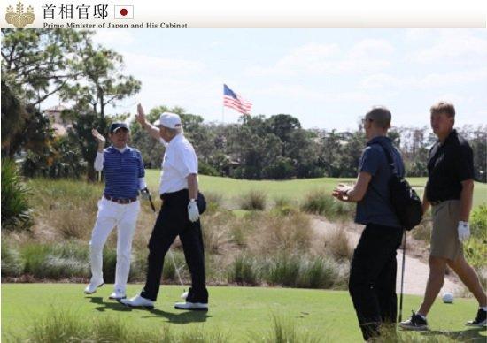 異常な相思相愛の安倍総理とトランプ…完全秘密のゴルフ会談の裏側、難問題は一切無視