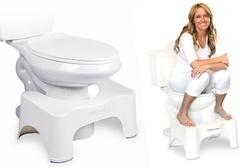 米国で大人気! トイレを<洋式から和式>に変えるグッズ登場〜そのワケは「便秘の解消」の画像1
