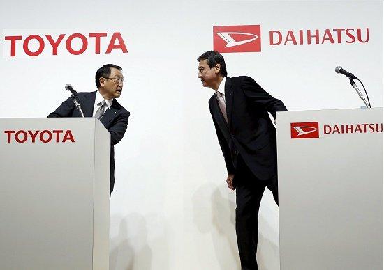 トヨタ、子会社ダイハツ社長すげ替えで「下請け扱い」…スズキとの提携優先の「障害」に
