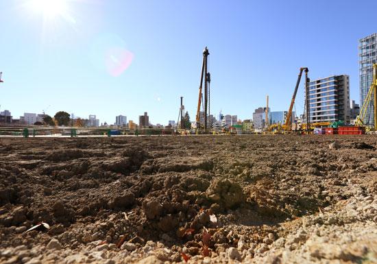博多陥没事故の「危険な」大成建設、新国立競技場建設への不安…安倍首相との親密すぎる関係