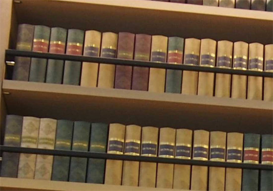 ツタヤ図書館、お飾り用の読めない洋書購入に巨額税金投入…高さ9mの棚に固定