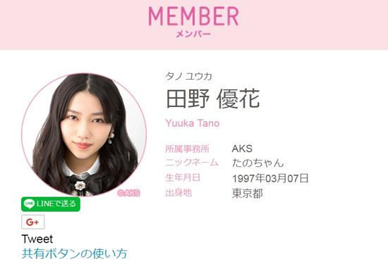 AKB48・田野優花、「韓国好きな日本人が好きじゃない」発言で大炎上