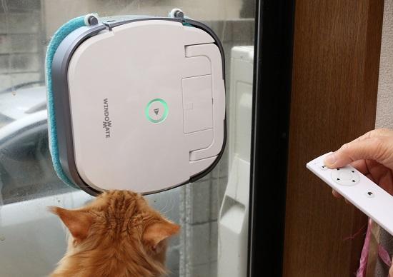 ハイパー便利な「窓拭きロボット」が感動的だ! プロのビル清掃並みにピカピカ!