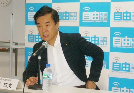 希望の党・松沢代表、日本のタブーに切り込む3大政策を明らかに