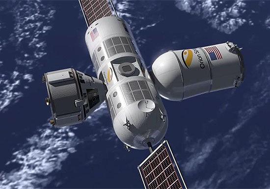 人類初の宇宙ホテル開業…12日間で10億円、絶景の地球を堪能、ネットも利用可