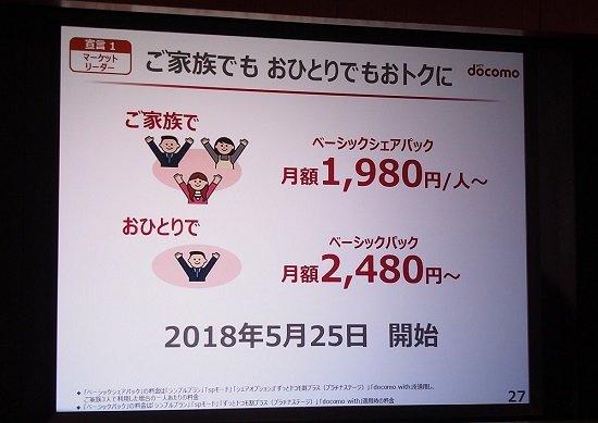 ドコモ、新料金プランで月額2680円も!ライトユーザーほど乗り換えるとオトク!