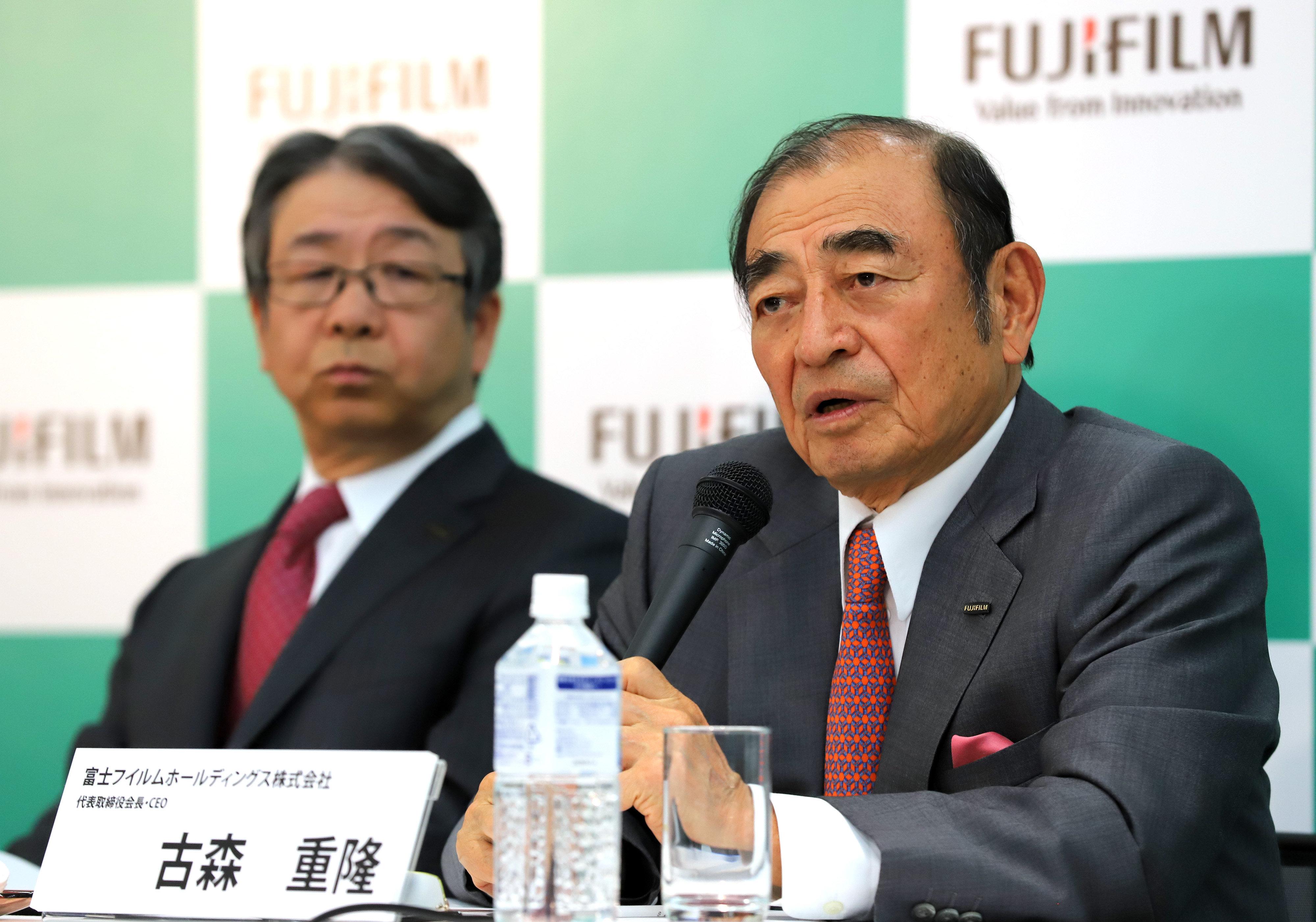 富士フイルム古森会長、買収座礁の説明求める株主を「無視」…ゼロックスと対抗路線へ転換かの画像1