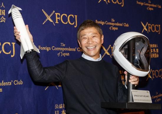 5000億円ともいわれるZOZO前澤社長の月旅行、ロケットの安全性に不安も
