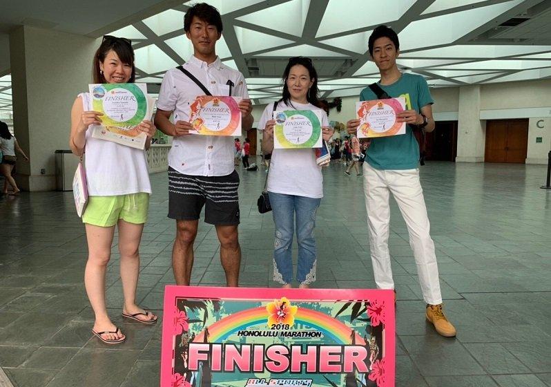 ホノルルマラソン完走スクールが超イイ!グループだから現地ハワイでも楽しい!