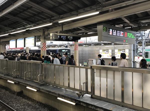新宿 混雑 西武 線