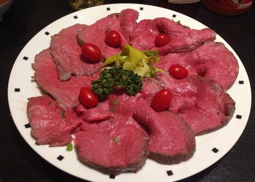 極上ローストビーフ、自宅で安く&手間なしでつくれる!硬い米国肉が和牛並みに!の画像1