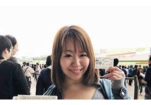 日本ダービーもこれで完璧?現役グラドル兼ライター・吉沢さりぃのポンコツ競馬初体験ルポ! 最強の「吉沢買い」を伝授の画像1