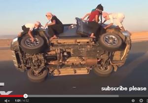ヤバすぎるサウジアラビア 自動車曲芸運転横行で人身事故世界一、ベンツ乗り捨て多発