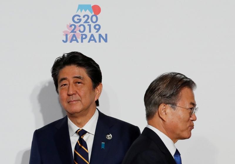 「安倍 ムンジェイン g20」の画像検索結果