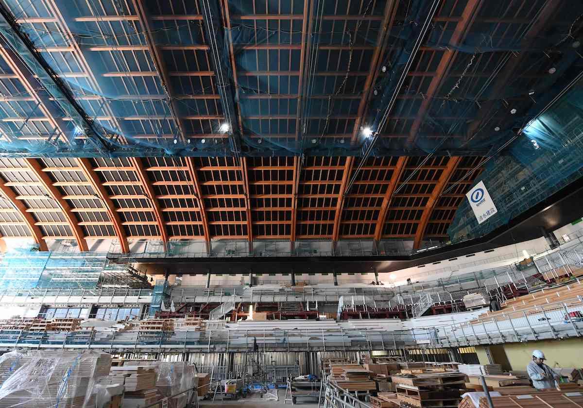 東京五輪、都整備の施設、年11億...