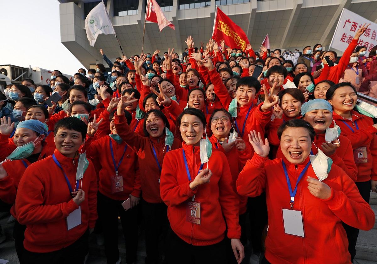"""中国、新型コロナ撲滅""""勝利宣言""""…中国の隠蔽で世界の初動が2カ月遅れ ..."""